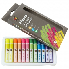 Jumbo Oil Pastels Fluoro Pack of 12