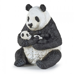 Papo Panda (Sitting with a Baby)