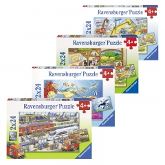 Ravensburger 2x24 Jigsaw Puzzle for 4 Year+ (Individual Set)