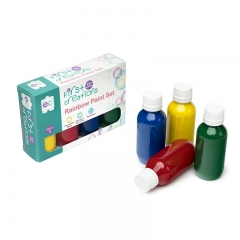Rainbow Paint 100ml Pack of 4