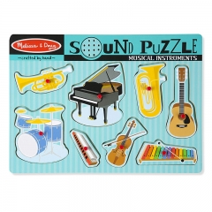 Melissa N Doug Musical Instruments Sound Puzzle