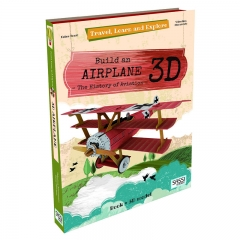 Sassi Travel Learn and Explore Book and 3D Model (Frokker Dr.1 Triplane)