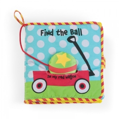 Manhattan Toys Find the Ball Soft Book