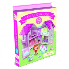 Sassi - 3D Puzzel and Book (Dollhouse)