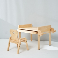 [PREORDER] MesaSilla Primary Adjustable Table and Chair Set (Free Delivery)(STOCK IN 8/7/20)