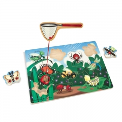 Melissa N Dough Magnetic Bug Catching Game