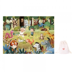 Tooky Toy Wooden Jigsaw Puzzle 100 Piece (Forest)