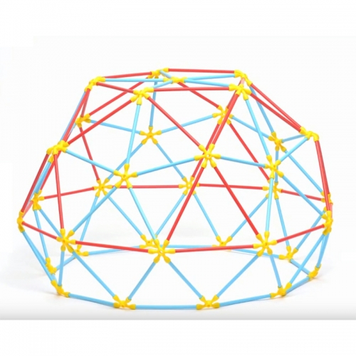 Hape Flexistix Geodesic Structures (177 Pieces)