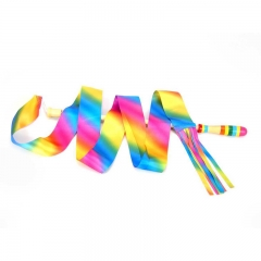 Wooden Ribbon Wand