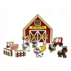 Metal Latch Playset (Farm)