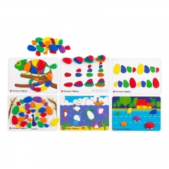 EDX Education Rainbow Pebbles Activity Set