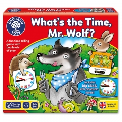 Orchard Toys Whats the Time Mr Wolf?