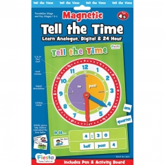 Fiesta Crafts Magnetic Activities (Tell the Time)