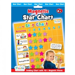 Fiesta Crafts Magnetic Activities (Star Chart)