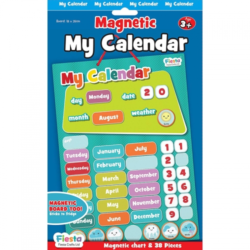 Fiesta Crafts Magnetic Activities (Calendar)