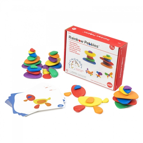 EDX Education Rainbow Pebbles