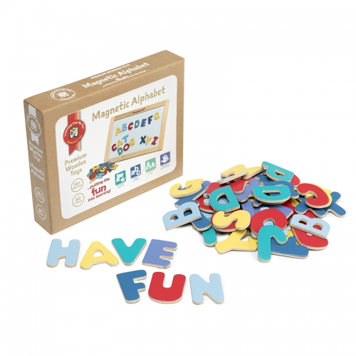 Magnetic Alphabet Set of 60 pieces