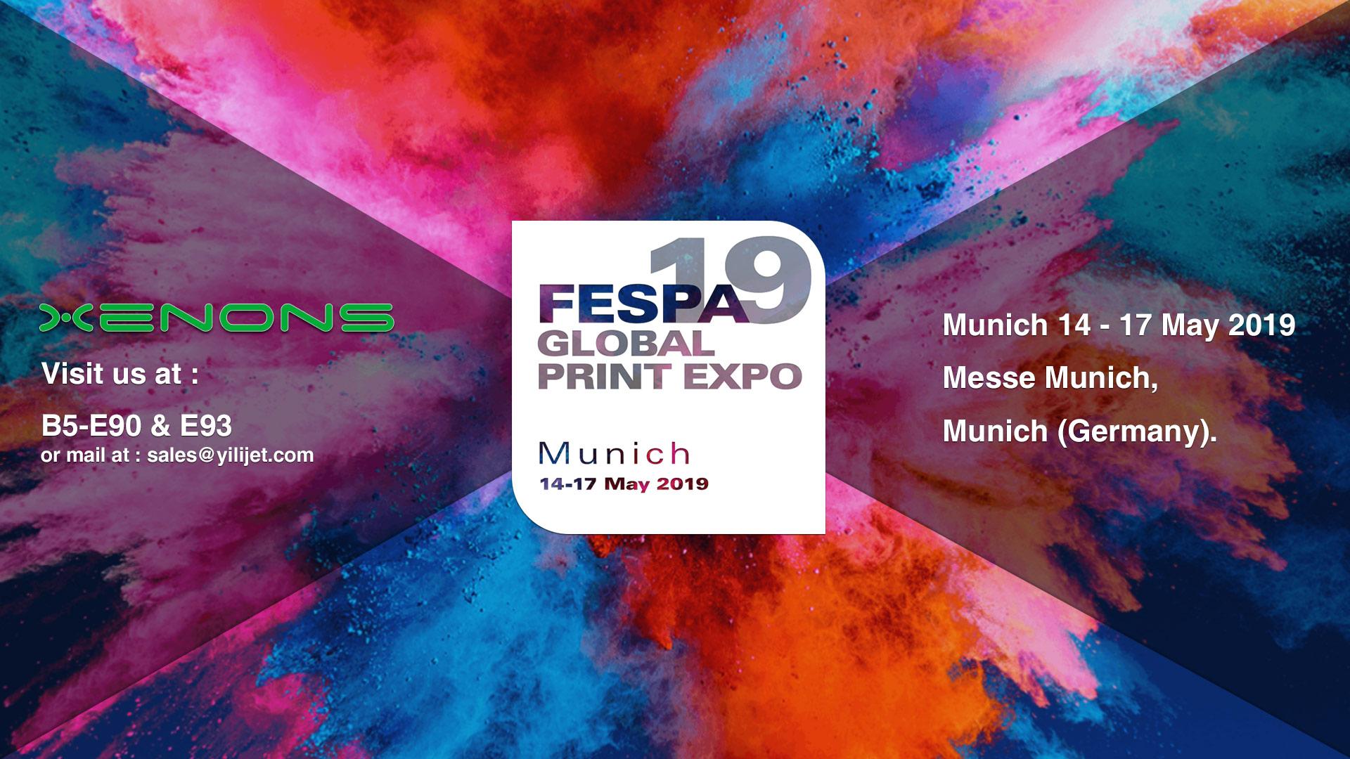 锐诺斯全球广印展FESPA