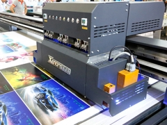 X3220-3.2 * 2.1 m UV LED Flatbed Inkjet Printer (max support 12*industrial head)