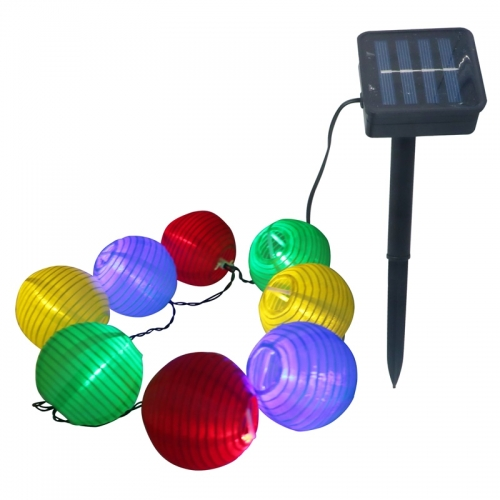 LED Garden Solar String LED Hanging Lantern Lights for Party Christmas
