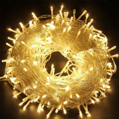 10M-100M LED Outdoor Christmas Lights Led Fairy String Lights 110V 220V White Warem White Colorful