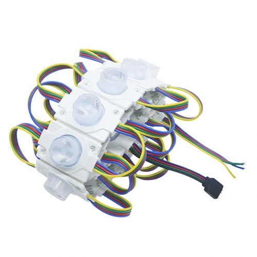 SMD 3030 RGB LED Module 1 LED Side Lighting 2W High Power Led Module Injection Lens Super Brightness