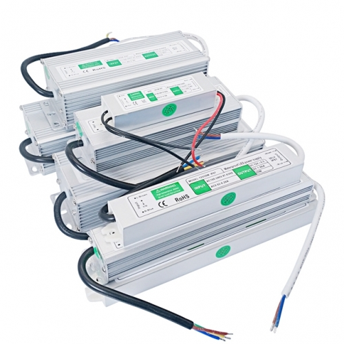 Outdoor Waterproof LED Power Supply AC100-240V to DC12V LED Driver Transformers for Led Strip