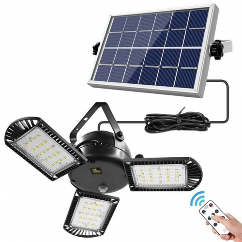 60 LEDs Solar Light 3 Adjustable Solar Lamp Light with Remote Control 2/4/6 Timer Outdoor Waterproof Solar Garden Lamps