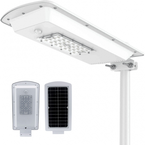 New 15W PIR Motion Sensor Solar Integrated Light 28 LEDs Outdoor Waterproof All in One Solar Street Lamp 2000LM 3 Years Warranty