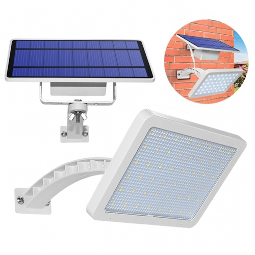 Solar Wall Lamp 48 leds Solar Light for Outdoor Garden Wall Yard LED Security Lighting with Adustable Lighting Angle