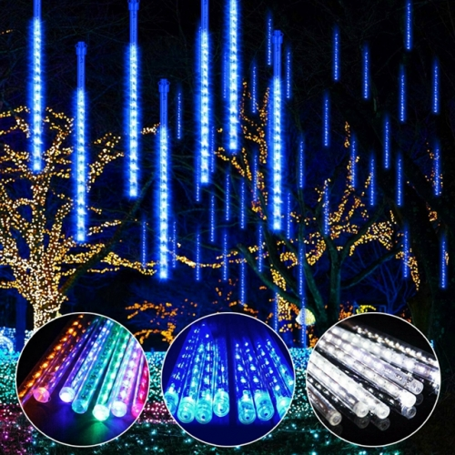30CM 50CM Meteor Shower Rain Tube Light String AC100-240V Waterproof Snowfall LED Strip Light for Xmas Party Wedding