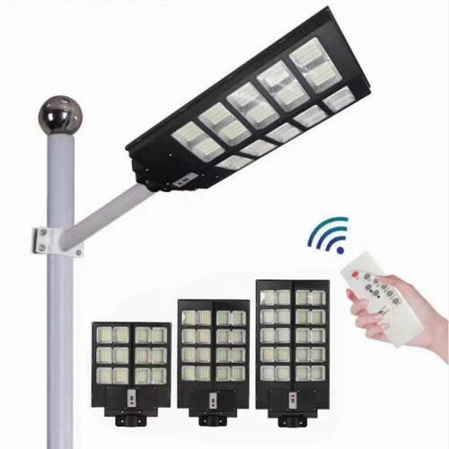 Super Bright 300W 400W 500W Solar Street Light Outdoor Waterproof PIR Motion Sensor Solar Lamp