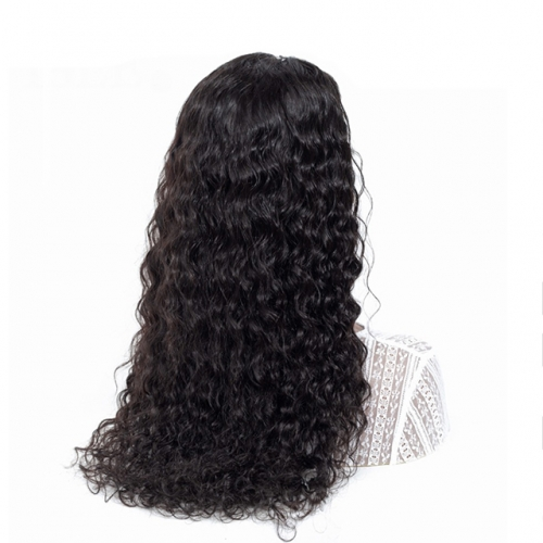 Water Wave Wigs 13X4 Lace Front Wigs For Black Women Remy Hair 180% Density Brazilian Lace Front Human Hair Wigs