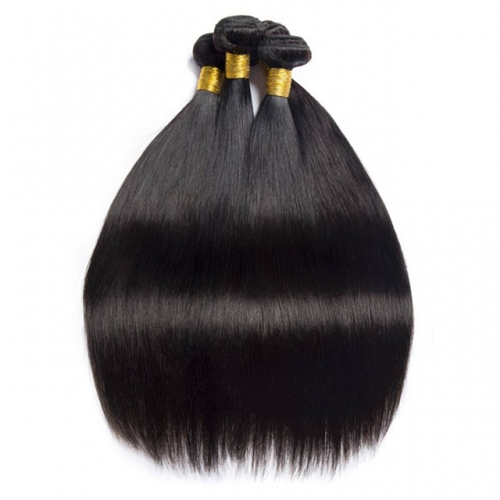Top Straight Hair Weave Bundles Natural Color 100% Human Hair Weaving 3 Pcs 8-28inch Remy Hair Extension