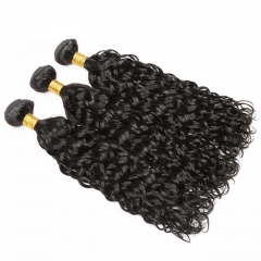 Best Selling Brazilian Water Wave 3 Bundles 8A Unprocessed Human Hair Weave 8-26inches Available Natural Black