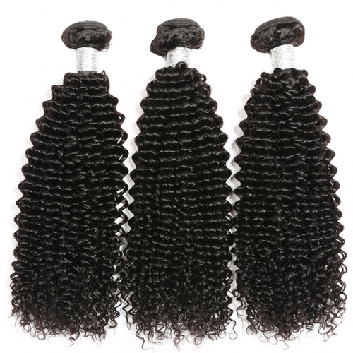 Luxury Tresses Kinky Curly Hair Bundles Remy Human Hair Extensions Natural Color Buy 3 Bundles Thick Kinky Curly