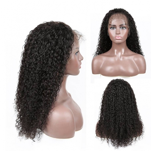 Curly Wigs 13X4 Lace Front Wigs For Black Women Remy Hair 180% Density Brazilian Lace Front Human Hair Wigs
