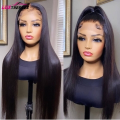 4x4 Lace Closure Human Hair Wigs For Women Brazilian Straight Lace Closure Human Hair Wigs 150% Remy Wigs