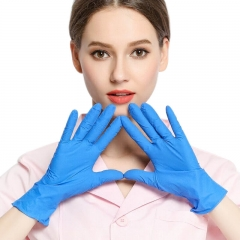 Nitrile Gloves Waterproof Disposable Work Safet Gloves