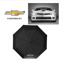 Auto Sport AUTO Open Large Folding Umbrella Windproof Sunshade with Car Logo (fit Chevrolet)