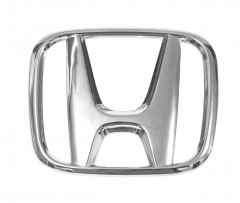 Replacement Emblem for Honda Rear H Emblem 2008 2009 2010 2011 2012 Honda Accord Sedan - Size 4.5 X 3.5 Inches