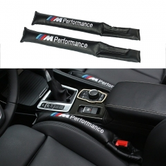 2 Pcs BMW M Performance Seat Gap Filler,Car Seat Gap Filler Soft Pad Padding Spacer For All BMW Models