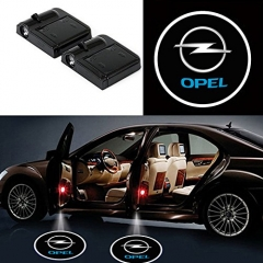 2 Pcs Wireless Car Door Led Welcome Laser Projector Opel Light Ghost Shadow Light Lamp Logos