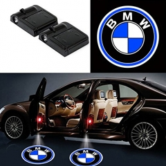 2 Pcs Wireless Car Door Led Welcome Laser Projector BMW Light Ghost Shadow Light Lamp Logos