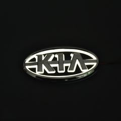 1*Car Styling 5D Rear Badge Bulb Emblem Logo EL Light Sticker Lamp For KIA K5/Sorento/Soul/Forte/Cerato/Sportage/RIO