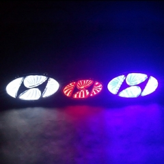 1 piece Car 3D LED Logo Light Badge Emblem Sticker Lamp for HYUNDAI  I30/VERNA/Elantra/SONATA/SONATA-YF/TUCSON/ACCENT/IX35/GENESIS COUPE