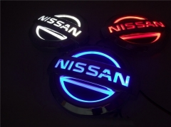5D LED Car Tail Logo Light Badge Lamp Emblem Sticker for NISSAN