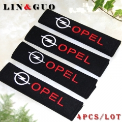 4PCS/set car-styling all cotton case for OPEL Corsa Insignia Astra Antara Meriva Zafira car styling