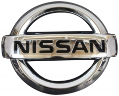 1PCS Details about   Rear Tailgate Emblem Badge Logo for Nissan Frontier Navara D21 D40 Pickup Truck