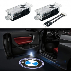 BMW Door Projector Lights Car Door Lighting Logo 2 Pcs LED Entry Ghost Shadow Laser Projector Welcome Lights Easy Installation for BMW 3/5/6/7/Z/GT/X/